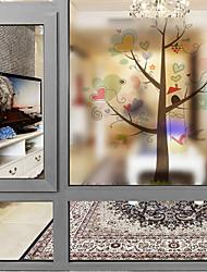Недорогие -Оконная пленка и наклейки Украшение Современный Персонажи ПВХ Стикер на окна Матовая