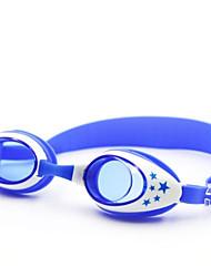 baratos -Óculos de Natação Óculos de Natação Anti-Nevoeiro Borracha PC Amarelo Vermelho Azul Dourado Claro Amarelo Rosa Preto Dourado Azul Escuro