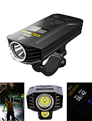 baratos -Luz Frontal para Bicicleta / Farol para Bicicleta LED duplo Luzes de Bicicleta Ciclismo Impermeável, Controlo Remoto, Profissional 1800 lm Ciclismo - Nitecore / Múltiplos Modos