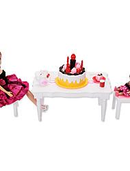 abordables -Accesorios de juguete para profesiones Tema Clásico Diseñado Especial Interacción padre-hijo Nuevo diseño Plástico blando Todo Niños