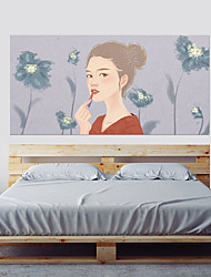 cheap -Decorative Wall Stickers - 3D Wall Stickers People Wall Stickers 3D Living Room Bedroom Bathroom Kitchen Dining Room Study Room / Office