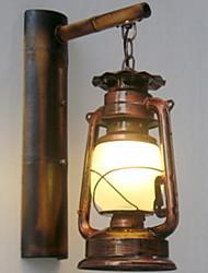 Недорогие -Антибликовая Античный / Винтаж Освещение ванной комнаты Металл настенный светильник 220-240Вольт 40W