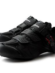 baratos -Tiebao® Tênis para Ciclismo Fibra de Carbono Anti-Escorregar, Vestível, Respirabilidade Ciclismo Preto Homens