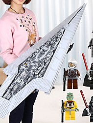 preiswerte -The Super Star Destroyer Model Bausteine 3280pcs Architektur Exquisit Boutique Geschenk