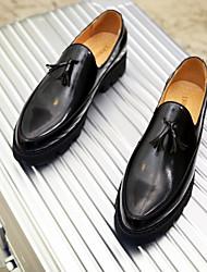 abordables -Homme Chaussures Tulle Automne / Hiver Chaussures de plongée Mocassins et Chaussons+D6148 Or / Noir / Rouge
