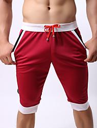 economico -Per uomo Essenziale Pantaloncini Pantaloni - Tinta unita