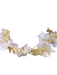 abordables -Tul Perla Artificial Perlado Artificial Fajas / Cintas 1pc Boda Cumpleaños Celada