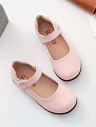 economico -Da ragazza Scarpe Di pelle Primavera Comoda / Scarpe da cerimonia per bambine Ballerine per Bianco / Nero / Rosa
