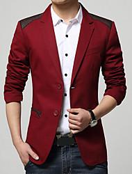billige Herremode og tøj-Herre Farveblok Simple Blazer