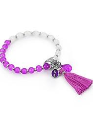 abordables -Femme Chaînes & Bracelets - Naturel Bracelet Arc-en-ciel Pour Sortie / Valentin