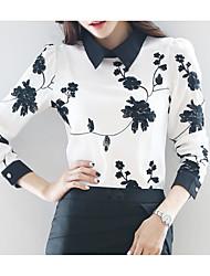 cheap -Women's Basic Blouse - Floral, Print