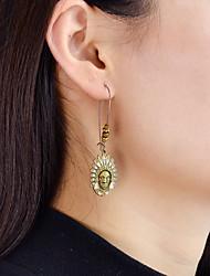 cheap -Women's Drop Earrings - Casual / Fashion Brown Geometric Earrings For Daily / Date