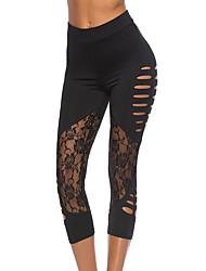 preiswerte -Damen Grundlegend Skinny Jogginghose Hose Solide