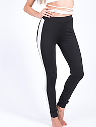 cheap -Women's Sporty Legging - Patchwork High Waist