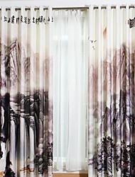 povoljno -Zavjese Zavjese Living Room Suvremeno Pamuk / poliester S printom