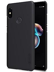 Недорогие -Кейс для Назначение Xiaomi Redmi Note 5 Pro Redmi 5 Plus Матовое Кейс на заднюю панель Однотонный Твердый ПК для Xiaomi Redmi Note 5 Pro