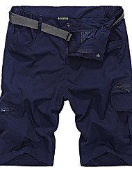 cheap -Men's Hiking Shorts Outdoor Fast Dry, Quick Dry, Breathability Shorts / Bottoms Outdoor Exercise / Multisport
