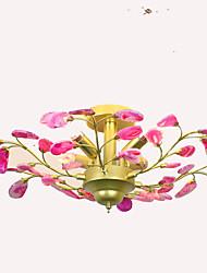 cheap -QIHengZhaoMing 4-Light Chandelier Ambient Light - Eye Protection, 110-120V / 220-240V Bulb Included / 10-15㎡