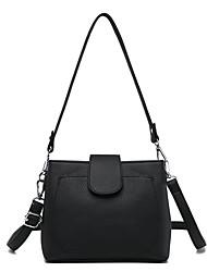 cheap -Women's Bags leatherette / PU Tote Zipper Black / Red / Purple