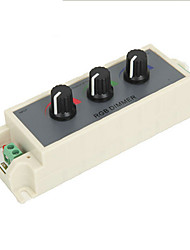 cheap -1pc 3-Way / Strip Light Accessory Dimmer Switch / RGB Controller Plastic