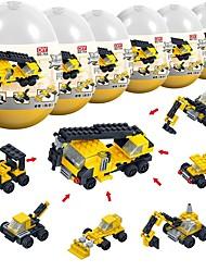 Недорогие -Конструкторы 194 pcs Архитектура Транспорт совместимый Legoing Стресс и тревога помощи Взаимодействие родителей и детей Грузовик Бульдозер Мальчики Девочки Игрушки Подарок