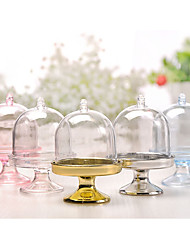 cheap -Oval Shape Plastic Favor Holder with Favor Boxes - 12