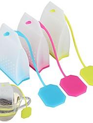 Недорогие -мешок силиконовый силиконовый чай травяной специй инфузионный фильтр диффузор сортированный цвет