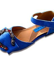 abordables -Fille Chaussures Similicuir Printemps / Automne Confort / Chaussures de Demoiselle d'Honneur Fille Ballerines Strass / La boucle du
