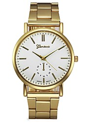 cheap -Women's Dress Watch Chronograph Stainless Steel Band Analog Fashion Gold - Gold One Year Battery Life / SSUO LR626