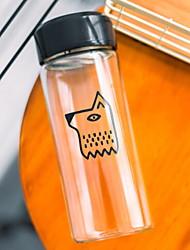 Недорогие -Drinkware стекло Стекло / Бокал Теплоизолированные 1pcs