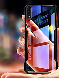 Недорогие -Кейс для Назначение Huawei P20 / P20 Pro Защита от удара / Прозрачный Кейс на заднюю панель Однотонный Мягкий Силикон для Huawei P20 / Huawei P20 Pro / Huawei P20 lite