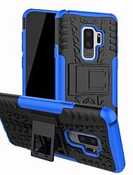 baratos -Capinha Para Samsung Galaxy S9 Plus / S9 Antichoque / Com Suporte Capa traseira Sólido Rígida PC para S9 / S9 Plus / S8 Plus