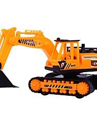 Недорогие -Строительная техника Игрушечные грузовики и строительная техника 1: 8 моделирование / Взаимодействие родителей и детей пластик 1pcs Дети
