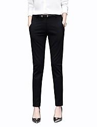 economico -Per donna Lavoro Essenziale Da completo Pantaloni - Tinta unita