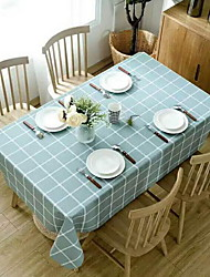 cheap -Casual PVC(PolyVinyl Chloride) / Nonwoven Square Placemat Striped Table Decorations 1 pcs