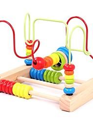 Недорогие -Головоломки Взаимодействие родителей и детей деревянный Детские Подарок 1pcs