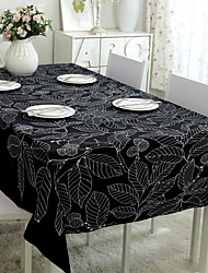 cheap -Contemporary PVC(PolyVinyl Chloride) / Nonwoven Square Placemat Embroidered Table Decorations 1 pcs