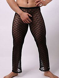 cheap -Men's Super Sexy G-strings & Thongs Panties - Mesh, Solid Colored Low Rise / Club