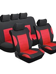 Недорогие -Чехлы на автокресла Чехлы для сидений Красный текстильный Общий for Универсальный Универсальный