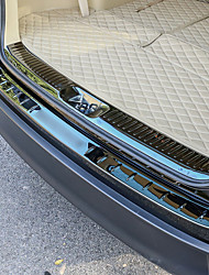 abordables -1m Barre de seuil de voiture for Coffre de voiture Combinaison Normal Acier Inoxydable For Toyota 2018 / 2015 Highlander