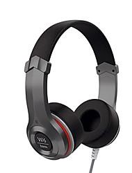 abordables -HOCO W6 Bandeau Câblé Ecouteurs Dynamique Plastique Téléphone portable Écouteur Cool Casque