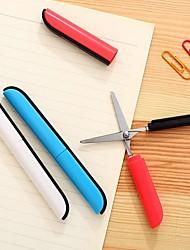 abordables -Ciseaux pliables en forme de stylo pour bureau étudiant