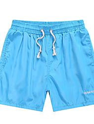 abordables -Hombre Tallas Grandes Shorts Pantalones - Un Color / Deportes