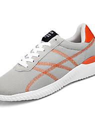 billiga -Herr Tyll Sommar Komfort Sneakers Svart / Grå
