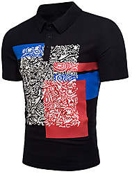 abordables -Tee-shirt Homme, Damier Basique