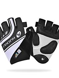 Недорогие -Nuckily Спортивные перчатки Перчатки для велосипедистов Противозаносный / Отражение / Пригодно для носки Без пальцев Терилен / PU