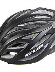 abordables -GUB® Adultos Casco de bicicleta 24 Ventoleras CE / CPSC Resistente a Golpes, Ajustable Fibra de carbon, EPS, ordenador personal Deportes Ciclismo / Bicicleta - Negro / Plata / Rojo