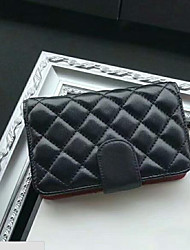 baratos -Mulheres Bolsas couro legítimo Bolsa de Mão Botões Preto