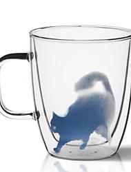 baratos -Copos vidro Vidro Calor mudando de cor-Sensitive 1pcs