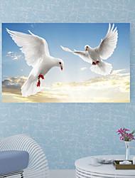 abordables -Calcomanías Decorativas de Pared / Pegatinas de piso - Calcomanías 3D para Pared Animales / 3D Habitación de estudio / Oficina / Oficina